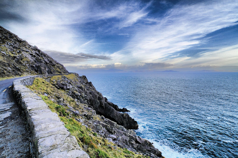 Cliff and Coastal view, Kerry