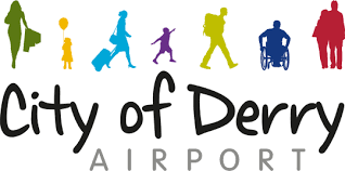 City of Derry Airport Logo, Airport Transfers to Donegal